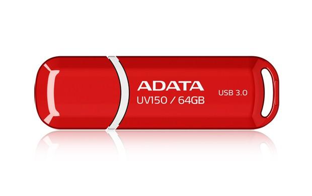 USB 3.0 USB kľúč 64GB Adata UV150, 3.0 (AUV150-64G-RRD)