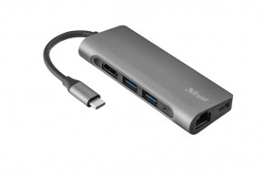 USB-C hub 7v1 Trust Dalyx Aluminium (23331)