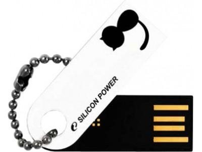 USB flash disk  Silicon Power 8GB USB Flash disk Touch 820/Bílý