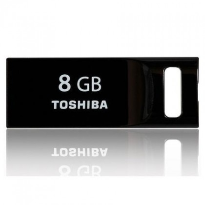 USB flash disk  Toshiba mini 8GB černý
