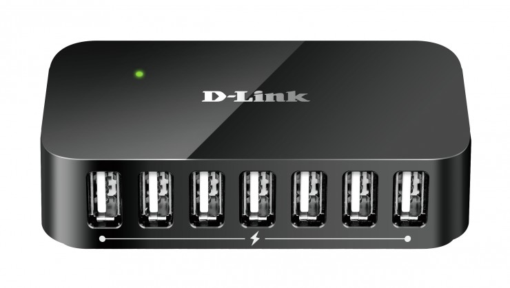 USB hub D-Link USB HUB DUB-H7