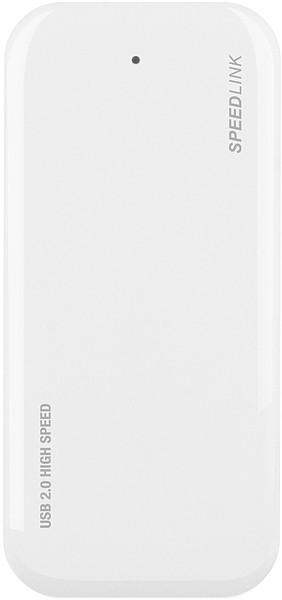 USB hub  Speed-Link NOBILÉ Active USB Hub - 4-Port, white SL-7416-SWT