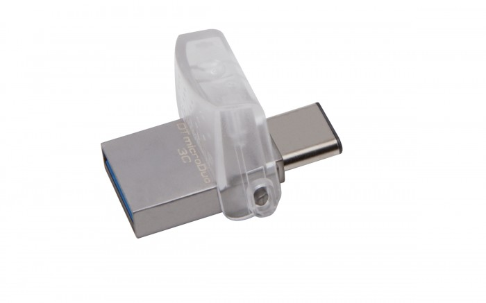 USB kľúč 128GB Kingston DT MicroDuo 3C,3.0 (DTDUO3C/128GB)