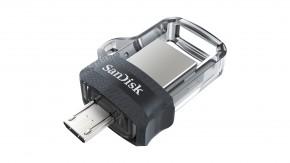 USB kľúč 256GB SanDisk Ultra Dual, 3.0 (SDDD3-256G-G46)