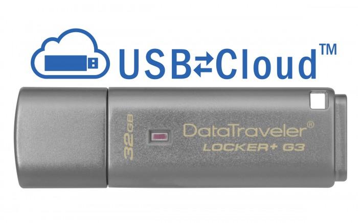 USB kľúč 32GB Kingston DT Locker+ G3, 3.0 (DTLPG3/32GB)