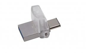 USB kľúč 32GB Kingston DT MicroDuo 3C, 3.0 (DTDUO3C/32GB)