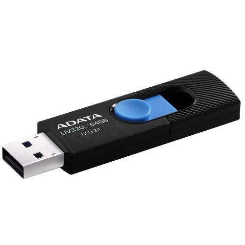 USB kľúč 64GB Adata UV320, 3.0 (AUV320-64G-RBKBL)