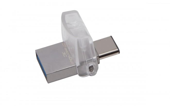 USB kľúč 64GB Kingston DT MicroDuo 3C, 3.0 (DTDUO3C/64GB)