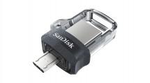 USB kľúč 64GB SanDisk Ultra Dual, 3.0 (SDDD3-064G-G46)