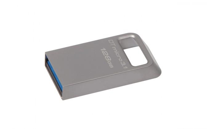 USB kľúče 128 GB USB Flash Kingston DataTraveler Micro 128GB USB 3.1 DTMC3/128GB