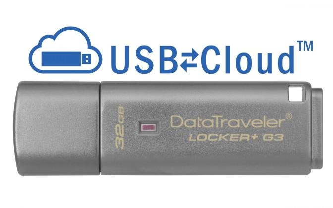 USB kľúče 32 GB USB kľúč 32GB Kingston DT Locker+ G3, 3.0 (DTLPG3/32GB)