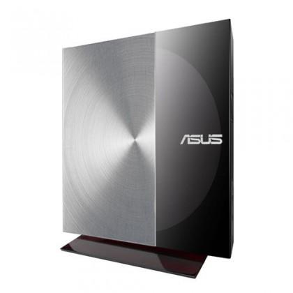 USB príslušenstvo Asus SDRW-08D3S-U čierna/strieb., externá DVD napaľovačka, soft.