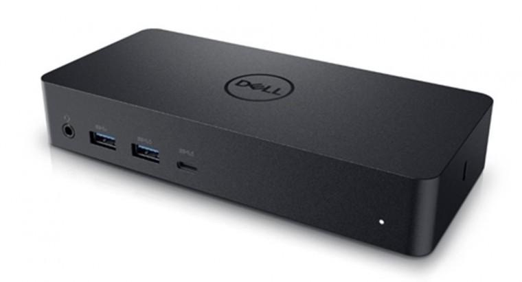 USB príslušenstvo Dokovacia stanica Dell D6000, univerzálna, čierna