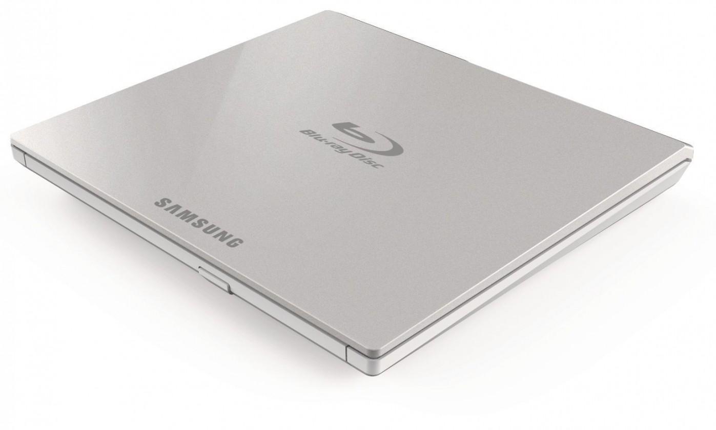 USB príslušenstvo Samsung Blu-ray Drive,  External, slim, USB 2.0, white
