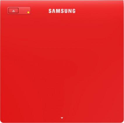 USB príslušenstvo Samsung Drive, External, Retail, SLIM, USB - red