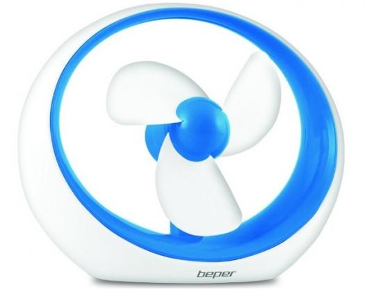 USB príslušenstvo Stolný ventilátor do USB Beper 70245 Miró modrý