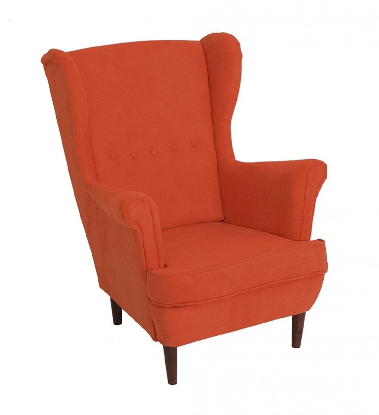 Ušiaky Kreslo ušiak Flo oranžová