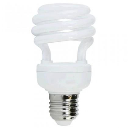 Úsporná žiarivka HALF SPIRAL T2 E27 20W teplá biela