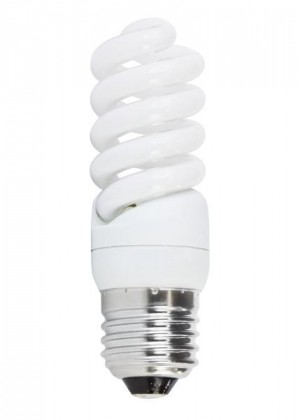 Úsporná žiarovka FULL SPIRAL E27 11W teplá biela