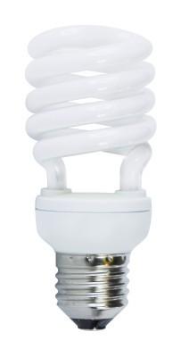 Úsporná žiarovka HALF SPIRAL T2 E27 18W teplá biela