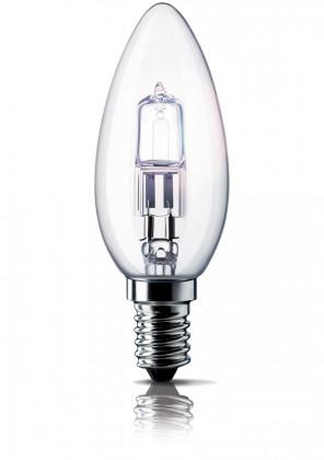 Úsporné žiarovky  Philips EcoClassic 28W E14 230V B35 CL 1CT/15