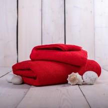 Uterák a osuška OR01 (červená, 50x100 cm, 70x140 cm)