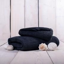 Uterák a osuška OR02 (čierna, 50x100 cm, 70x140 cm)