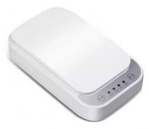 UV sterilizátor Paton pre mobily, rúšky, 8-10min s QI, biela ROZB