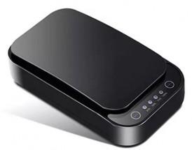 UV sterilizátor Paton pre mobily, rúšky, 8-10min s QI, čierna