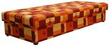 Váľanda Dana 90x200, oranžová, vrátane matraca a úp