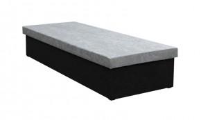 Váľanda Iva 80x200, čierna/šedá, vrátane úp