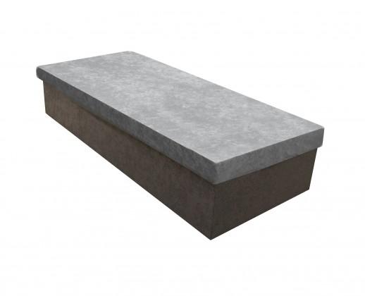 Váľandy Váľanda Iva 80x200, šedá, vrátane úp