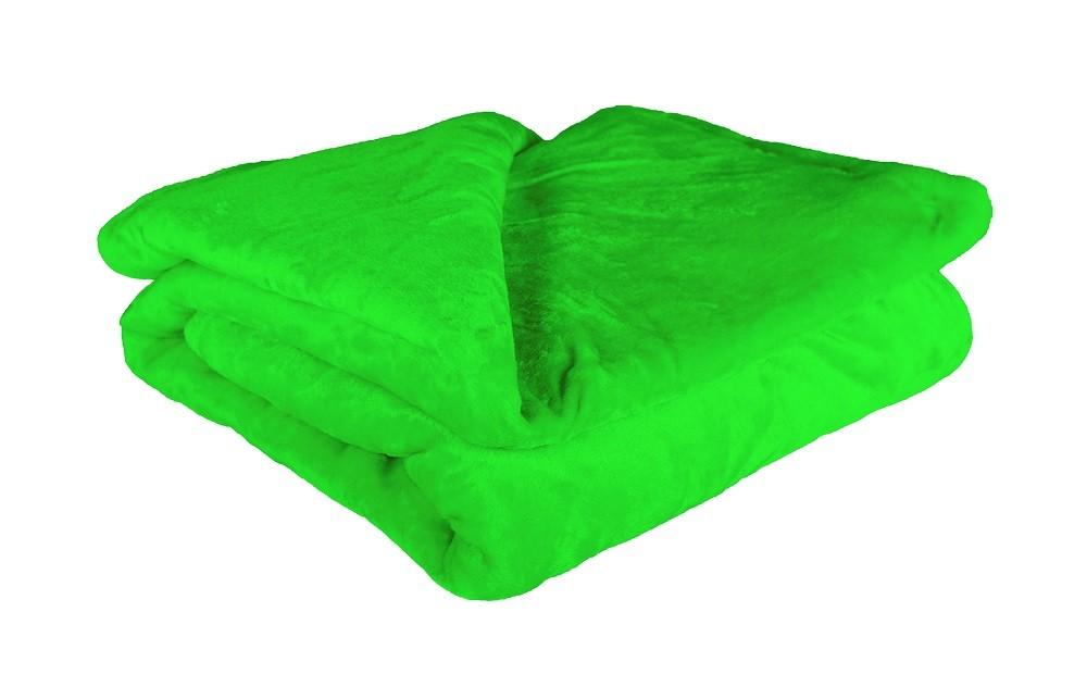 Vankúš, paplón Deka mikrovlákno DM15 (150x200 cm, zelená)