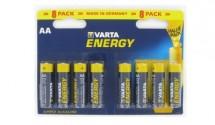 Varta Energy 8 AA (Double Blister