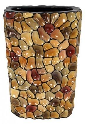 Váza keramická - 35 cm (keramika, mix farieb)