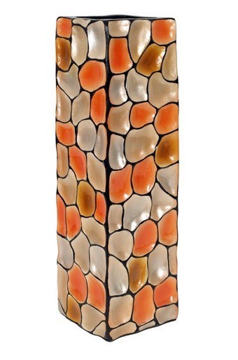 Váza keramická - 60 cm (keramika, mix farieb)