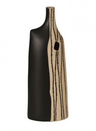 Váza keramická - 61 cm (keramika, čiernopiesková)