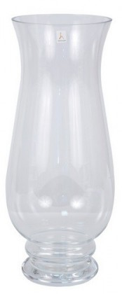 Váza sklenená - 40 cm (sklo, číra)
