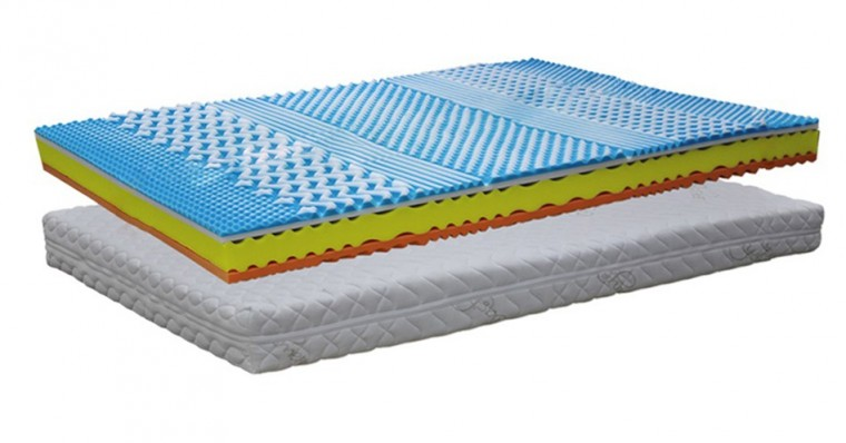Vážim do 90 kg Matrac Soft Sleep - 160x200x24