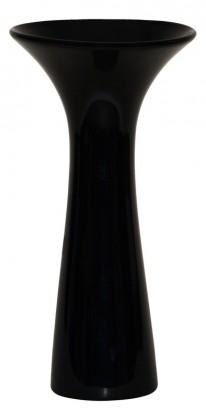 Vázy Keramická váza VK02 (čierna, 30 cm)