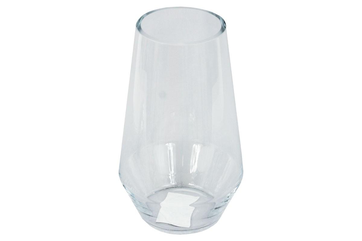 Vázy Sklenená váza VS02 (číra, 25 cm)