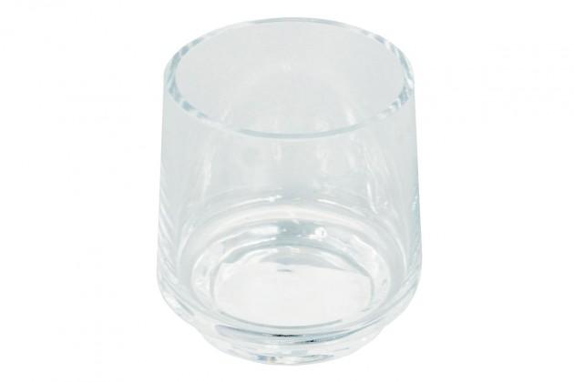 Vázy Sklenená váza VS03 (číra, 12,5 cm)