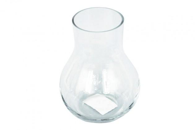 Vázy Sklenená váza VS07 (číra, 15 cm)