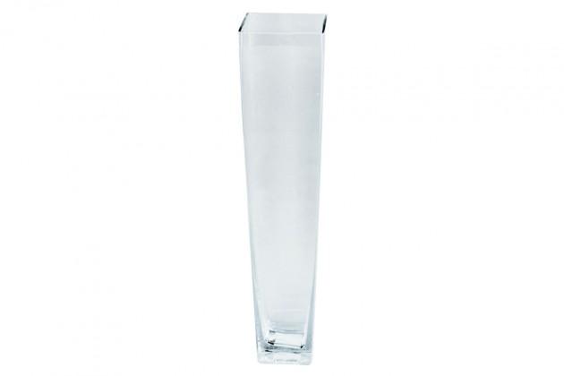 Vázy Sklenená váza VS11 (číra, 28 cm)