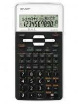 Vedecká kalkulačka Sharp EL531THBWH, 273 funkcií, 2 riadky, kryt