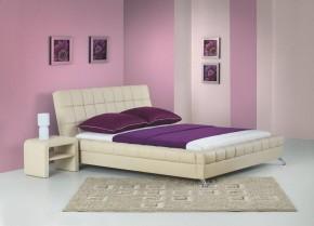Venice - Posteľ 200x160, rám postele, rošt (béžová)
