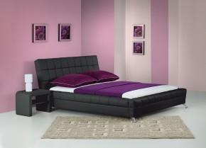 Venice - Posteľ 200x160, rám postele, rošt (čierna)