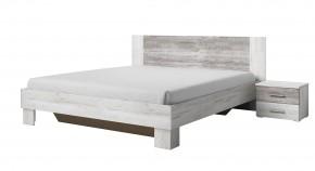 Vera - Posteľ 180x200 cm, 2x nočný stolík, pínie
