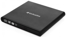 VERBATIM Externá CD / DVD Slimline mechanika USB 2.0 + Nero