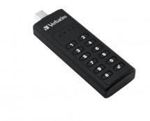 VERBATIM Keypad Secure Drive USB-C 64 GB USB 3.1
